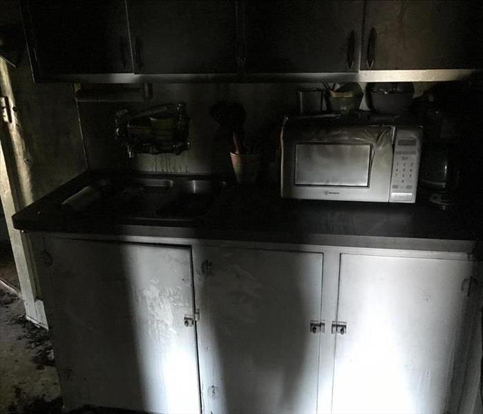Soot Stained Appliances